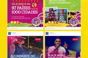 O Canal do Carnaval - TVE Bahia. Site oficial da maior transmissão do Carnaval de Salavador 2014. #DireçãoDeArte Tuíris de Azevedo